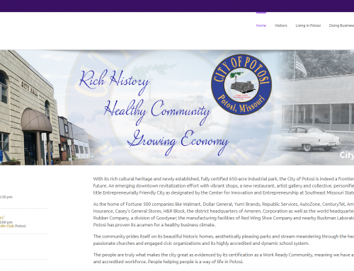 Potosi City Website